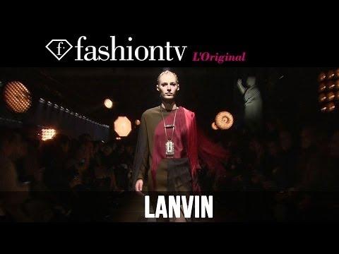 Edie Campbell, Anna Ewers at Lanvin Fall/Winter 2014-15 | Paris Fashion Week PFW | FashionTV