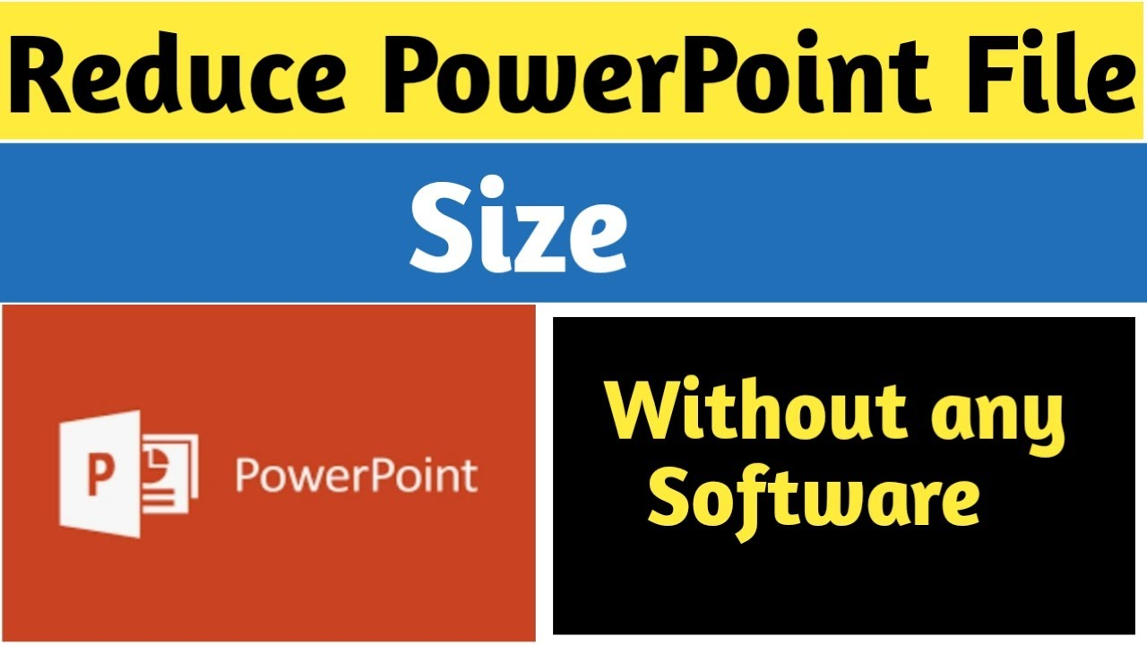 How to reduce ppt file size in powerpoint 2007 youtube how to reduce ppt file size in powerpoint 2007 toneelgroepblik Images