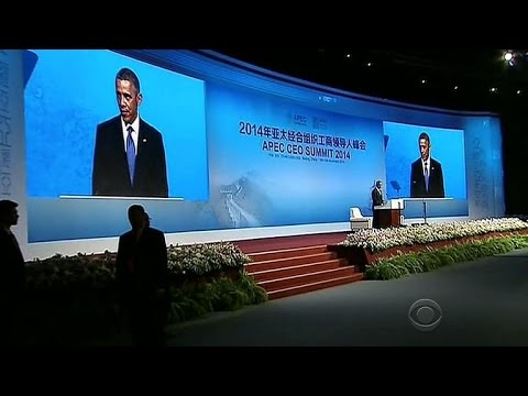 Obama in Beijing, renews focus on Asia