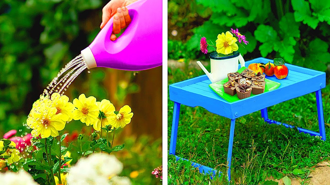 Useful GARDENING Hacks You Need to Try || Amazing Ideas to Decorate Your Backyard!