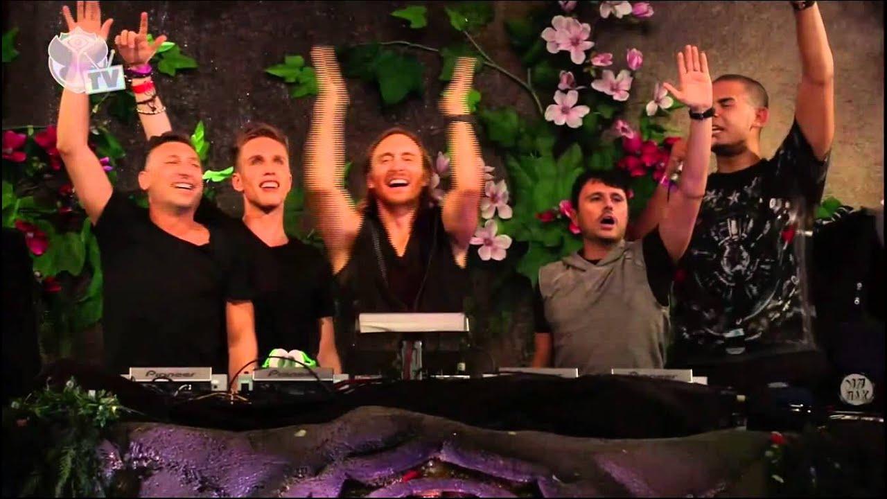 Download David Guetta Presents : Daddy's Groove & Mindshake - Surrender TOMORROWLAND 2013
