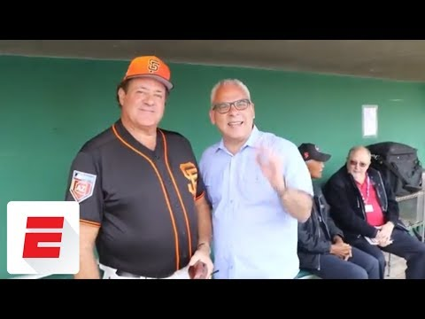 Chris Berman gets called up to the majors to manage the San Francisco Giants  ESPN