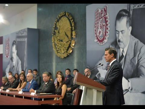 """Entrega de la Presea """"Lázaro Cárdenas"""" 2017. Día del Politécnico"""