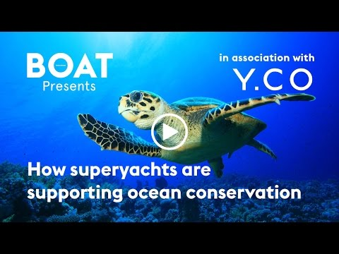 How superyachts are supporting ocean conservation