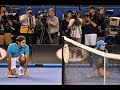Federer and ball boys - Funny and Emotional !!