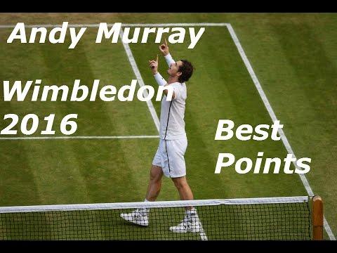 Andy Murray Wimbledon 2016 Best Points (WIMBLEDON CHAMPION)