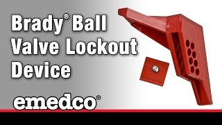 How to Install A Brady Ball Valve Lockout Device | Emedco Video