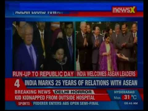 India welcomes ASEAN nation leaders for Republic Day Celebration