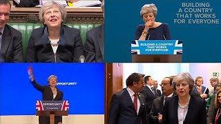 你竟是这样的英国首相!150秒盘点特雷莎·梅令人难忘的瞬间| 小央视频