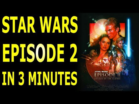 The Story of Star Wars Episode 2 Attack of the Clones Explained In 3 Minutes