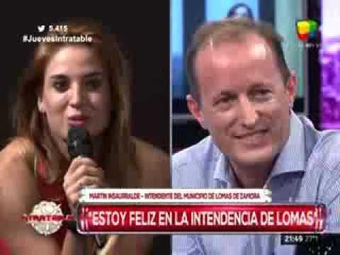 Jésica Cirio y Martín Insaurralde, juntos en Intratables