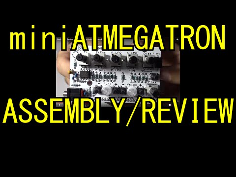 Soulsby Synthesizers miniAtmegatron Unboxing, Assembly and quick Demo