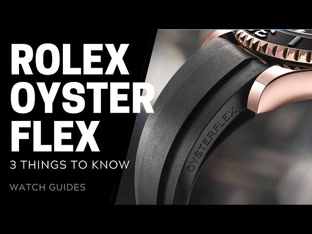 Rolex Oysterflex Bracelet - 3 Things to Know   SwissWatchExpo