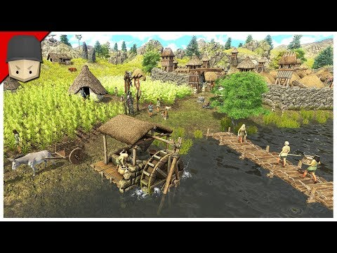 DAWN OF MAN - FIRST LOOK GAMEPLAY - Ep.01 (Survival/City Builder)