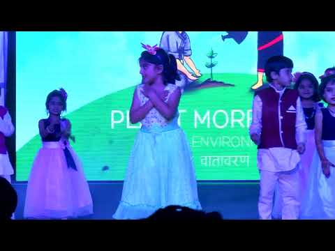 Ban Plastic - Theme Oriented Dance Performance by Grade 1 students