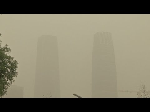 Beijing Issues This Year's 1st Blue Alert for Sandstorm