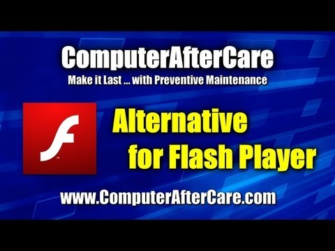 Alternative For Flash Player