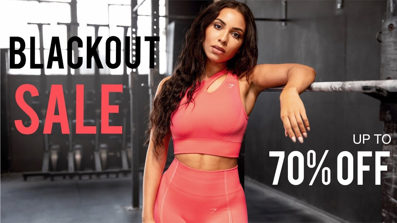 WHAT TO BUY IN GYMSHARKS HUGE SALE | 70% OFF MY FAVS!! | AD