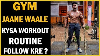Beginners Workout for Bodybuilding | Complete Guide To Gym - Diet & Tips