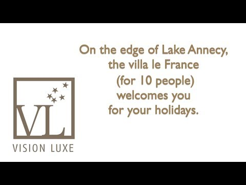 Vision Luxe The villa Le France GB