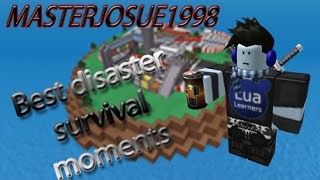 SnyFort Roblox - Best moments in Natural disaster survival