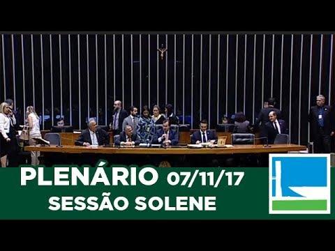 PLENÁRIO - Solene: