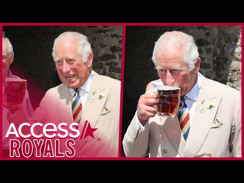 Prince Charles Toasts & Sips Beer w/ Camila On Lunch Date
