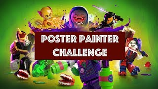 Lego DC Super Villains – Poster Painter Challenge - All Poster Locations