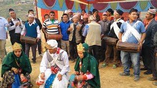 Nepali Cultural Activity 39 s sorathi Dance Maruni Song Nacheri Song At Gulmi Bharse 2018