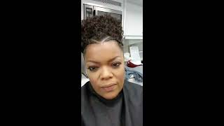 """The Mayor"" cast on Yvette Nicole Brown's Instagram Live (October 18, 2017)"
