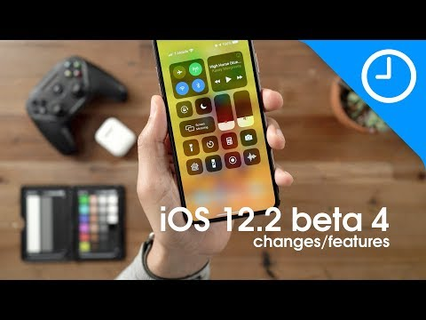 What's new in iOS 12.2 beta 4 – changes and features [Video]
