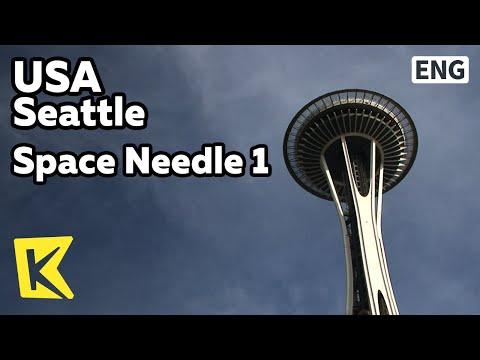 【K】USA Travel-Seattle[미국 여행-시애틀]스페이스 니들에서 바라본 풍경/Space Needle 1/Landscape/Observatory