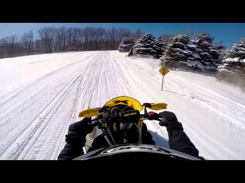 Snowmobiling Southtowns of Western New York 2014-2015