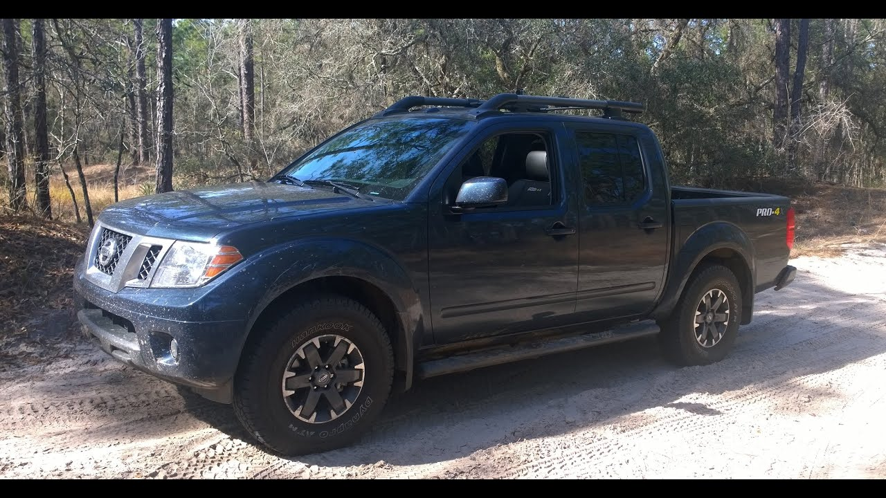 2015 nissan frontier pro 4x off road in croom forest roads youtube. Black Bedroom Furniture Sets. Home Design Ideas