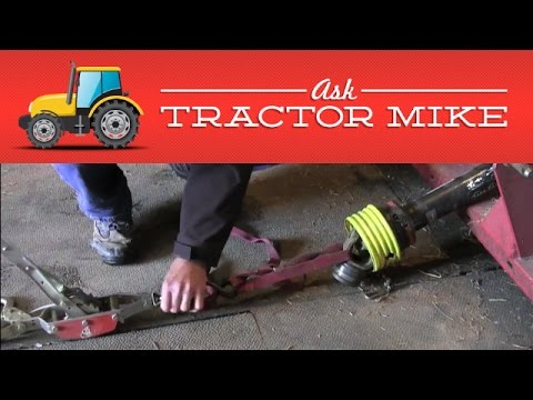 What to Do When Your PTO Shaft Won't Extend - YouTube