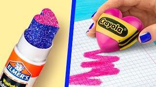 11 المرح DIY اللوازم المدرسية / عيد الحب الخاص!