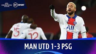 Manchester United v Paris Saint-Germain (1-3) | Champions League Highlights