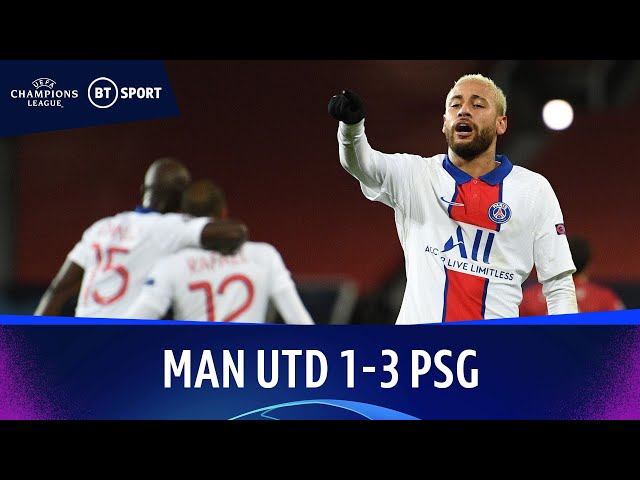 Manchester United v Paris Saint-Germain (1-3) | Champions League Highlights