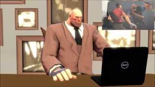Red Team Reacts to Meet the Scout [SFM]