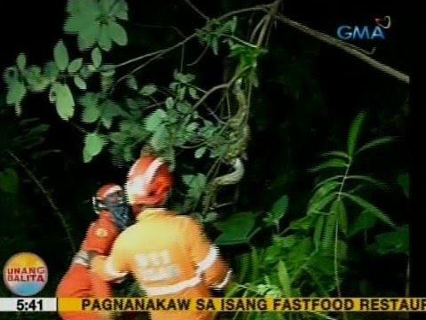 UB: Malaking sawa na namemerwisyo ng alagang manok, nahuli sa Davao City