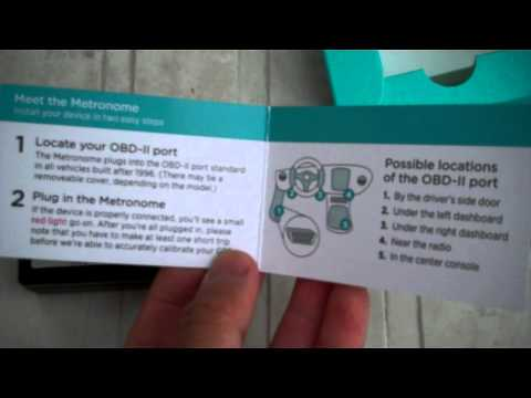 150316 1 Metromile per mile auto insurance how to install Metronome 1996 & newer OBD port