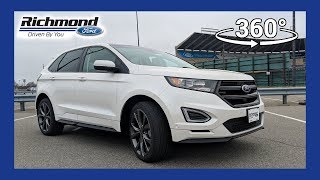 2018 Ford Edge Sport 360 Degree Virtual Test Drive