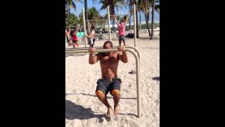 Freestyle On The Dip Bar In Miami