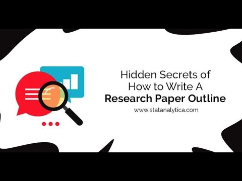 A Step by Step Guide on How to write research paper outline