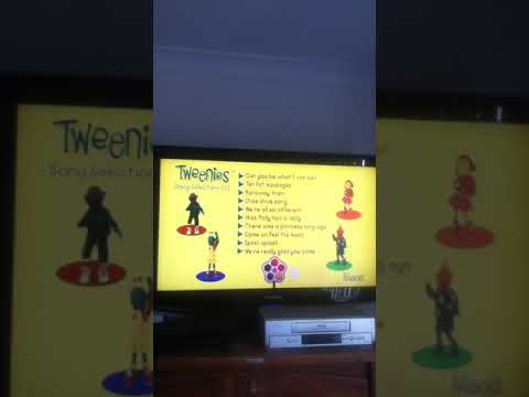 Tweenies Song Time 2 And Song Time is Fab A Rooney DVD Menu