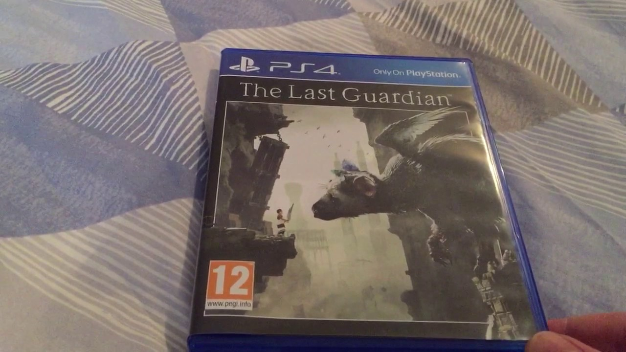 The Last Guardian Unboxing Ps4 Youtube