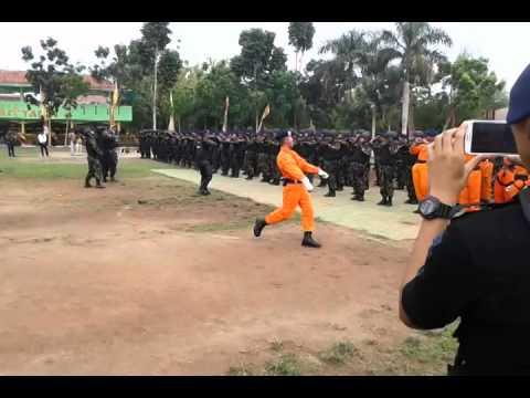 Yel yel Brimob Banten Hut Brimob ke 69