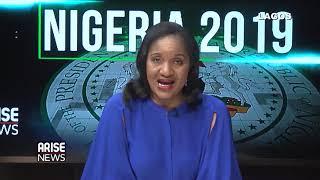 Nigeria 2019: Charles discuss with Arise MD, Ijeoma Nwogwugwu concerning Atiku-Bank PHB Slush fund
