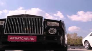 Прокат автомобилей без водителя Rolls-Royce / Роллс Ройс Фантом черный(, 2016-01-20T11:06:42.000Z)