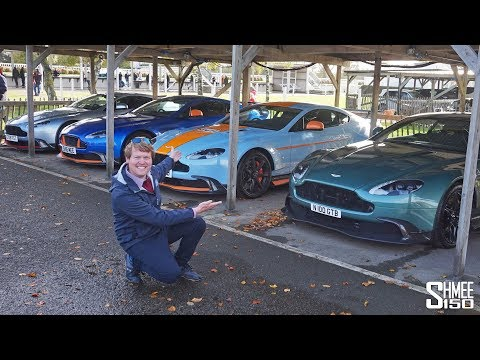 FOUR Aston Martin Vantage GT8s ROARING AWAY! | VLOG